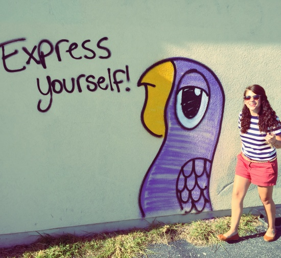 express yourself graffiti